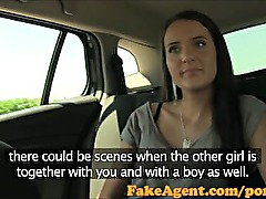 FakeAgent Two hot amateurs impress in casting inteview