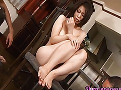 Super hot asian babes sucking