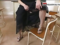 Japanese teacher fucking