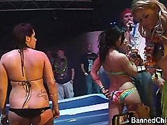 Party chicks with no limits in this amateur video