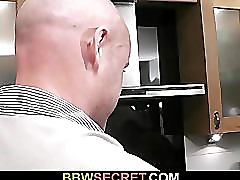Large lady is fucked by a cheating hubby