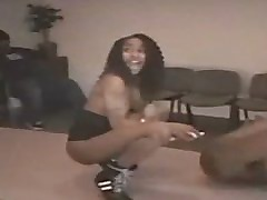 Ebony strippers cock teasing