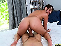 This Latina loves getting her sweet pussy pounded.
