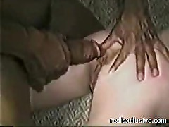 Watching my Wif Anal fucked by a BBC