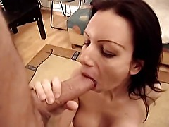hungarian Vivien blowjob