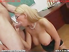 Busty Teacher Gets Ripped By Student