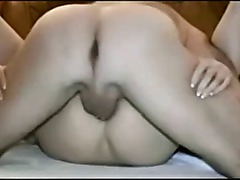 Amateur wife getting ass and pussy fucked
