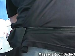 Teen recored being fucked in massage room