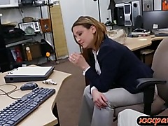 Busty wife fucked and facialed for money