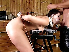 Bent over and quieted down by housecall specialist Dr. Choky Ice, Paige Turnah is starting to wonder. She must fuck with this doctor using dirty strange constructions. Enjoy!
