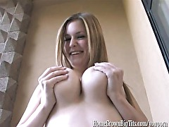 Busty Amateur Babe Gets Some Good Dicking