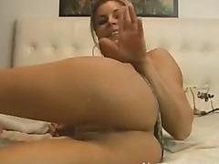 SELF FISTING AND ANAL CREAMPIE