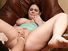 Colossal dildo fucking and extreme fisted amateur slut
