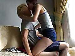 Young Lovers Taped Having Intense Sex At Home