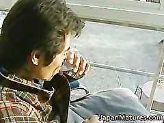 Japanese MILF enjoys hot sex part1