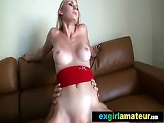 Sexy Hot Teen Amateur Girl Banging Hard On Tape vid-27