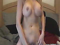MILF Is Home Alone And Likes It