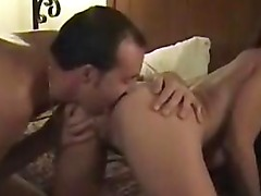 homemade amateur anal sex cum on ass