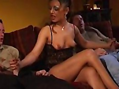 Guess What? You`re A MILF, Scene 3 horny amateur mature mother fucked by hard younger cocks