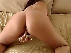 Brunette housewife home vids