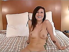 casting beautiful tattooed girl