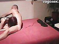 German amateur wants to watch tv but gets fucked