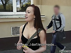 Getting an amateur chick in Europe to suck your cock is a piece of cake, and things go pretty smooth with cute Bianka who isnt immune to large sums of cash...