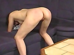 Amateur spanking his sexy wife