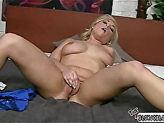 Horny young babe gives head like a pro