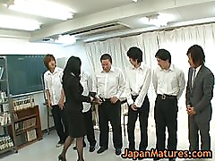 Natsumi kitahara gets fucked by four men 2 by japanmatures
