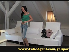 FakeAgent Pretty woman with a stunning figure is an amazing fuck