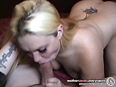 Horny homemade amateur housewife sex blonde