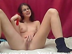Cute dirty amateur little girl on cam, part 2 + squirt