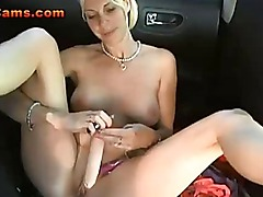 Amateur Blonde Public Masturbation