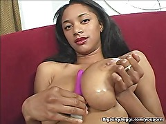 Big Juicy Jugg Girl Dick Pounded