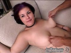 Big tits EMO girlfriend taking blowjob and homemade porn sad sex