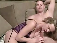 Amateur Sexy Blond Blow Job And Foot Job.