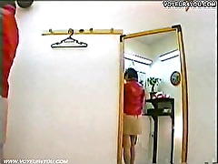 Hidden Camera In Dressing Room