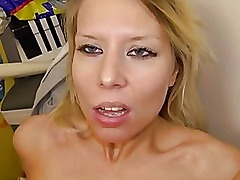 Amateur Adrienne fucked for some money