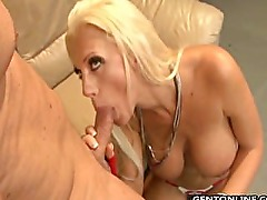 Brooke Haven is one hot porn star!! Her huge Double D tits and bleach blond
