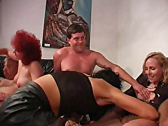 Great german mature group-sex !