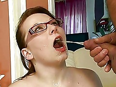 Naughty amateur couple pissing and fucking