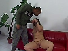 sexy hungarian bbw gets fucked by black