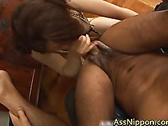 Big Japanese Butt Worship free video part5
